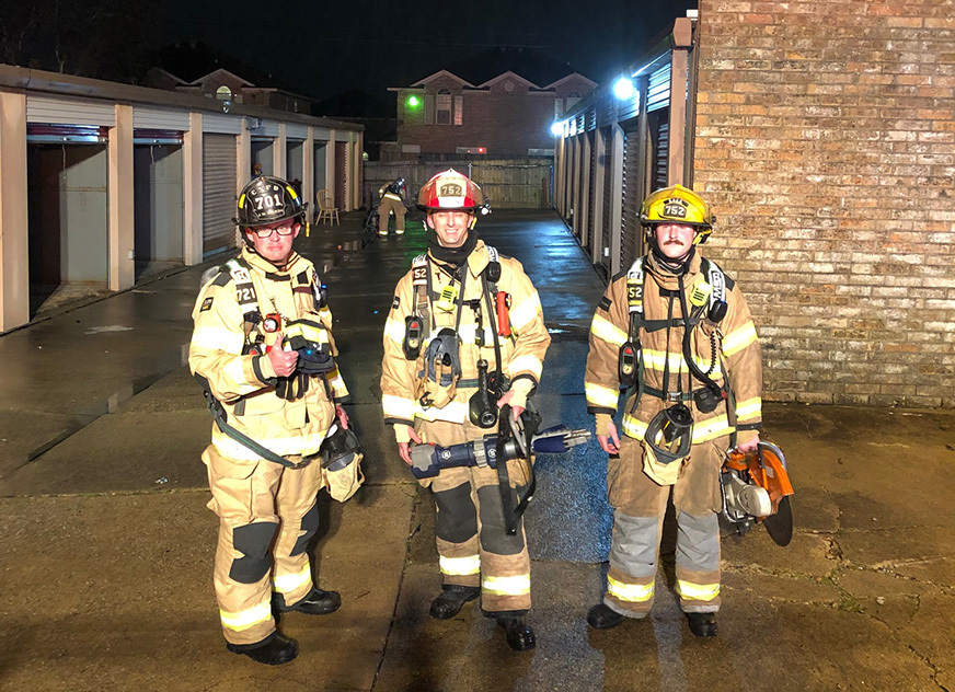FF Turns to StrongArm® during Mini-Storage Fire