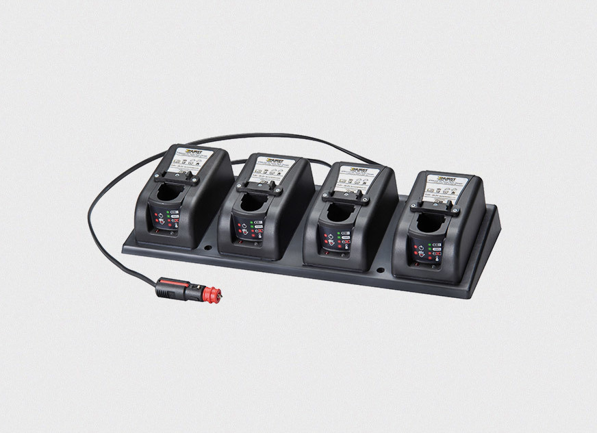 HURST Jaws of Life® Releases DC Bank Charger for eDRAULIC Tools