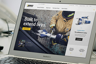 HURST Jaws of Life® Website Takes Home Three Design Awards